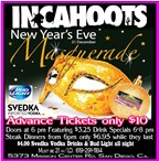 New Years Eve - In Cahoots