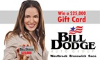 Win a $25,000 Bill Dodge Gift Certificate