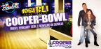 JOIN US FOR BLI�S COOPER-BOWL AT BOWLERO SAYVILLE