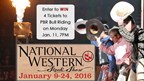 Enter to WIN PBR Bull Riding Tickets at the National Western Stock Show!