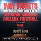 New Year's College Bowl Ticket Giveaway
