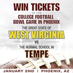 Jan 2 College Bowl Ticket Giveaway