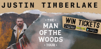 WIN A PAIR OF TICKETS TO JUSTIN TIMBERLAKE AT MSG ON OCTOBER 24TH!