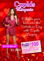 Valentines Day Promo: Cupids Lingerie