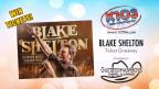 The Blake Shelton ticket giveaway