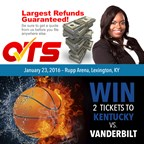 Quality Tax Service is giving away 2 tickets to the Saturday, January 23rd UK v Vanderbuilt game!