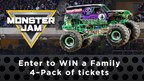 Enter to WIN a 4-Pack of Tickets to Monster Jam!