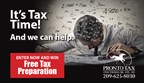 Free Tax Preparation Sweepstakes