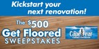 $500 GET FLOORED SWEEPSTAKES