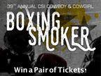 Cowboy & Cowgirl Boxing Smoker 2016
