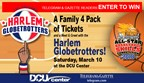 2018 Globetrotters Enter to Win Tickets and Meet & Greet