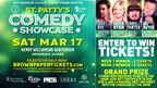St. Patty's Comedy Showcase Giveaway