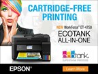 Win An Eco-Tank Printer from EPSON