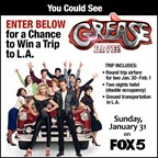 GREASE LIVE L.A. GIVEAWAY