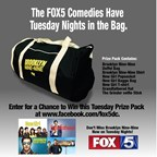 tuesday comedies prize pack giveaway