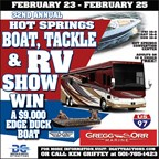 32nd Annual Hot Springs Boat & RV Show
