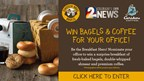Enter to WIN Coffee and Shmear for for your office from Einstein Bros Bagels and Caribou Coffee!