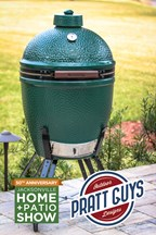 Enter to win a Big Green Egg at the Jacksonville Home + Patio Show, courtesy of Pratt Guys!