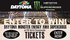 DAYTONA Monster Energy AMA Supercross Challenge