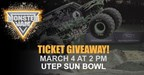 Monster Jam 2018 - Ticket Giveaway