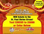 St. Paul Osman Shrine Circus Ticket Giveaway 2016