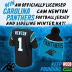Carolina Panthers Jersey & Winter Hat Giveaway
