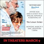 MH - THE LEISURE SEEKER Screening