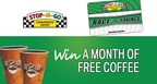 Stop-N-Go's Free Coffee for a Month Sweepstakes (2018)