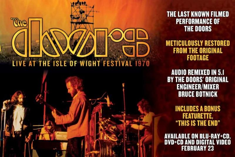Win u0027The Doors Live At The Isle Of Wight Festival 1970u0027 on DVD!  sc 1 st  96.5 WKLH & Win u0027The Doors: Live At The Isle Of Wight Festival 1970u0027 on DVD ...
