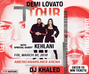 Win tickets to see Demi Lovato in concert at the American