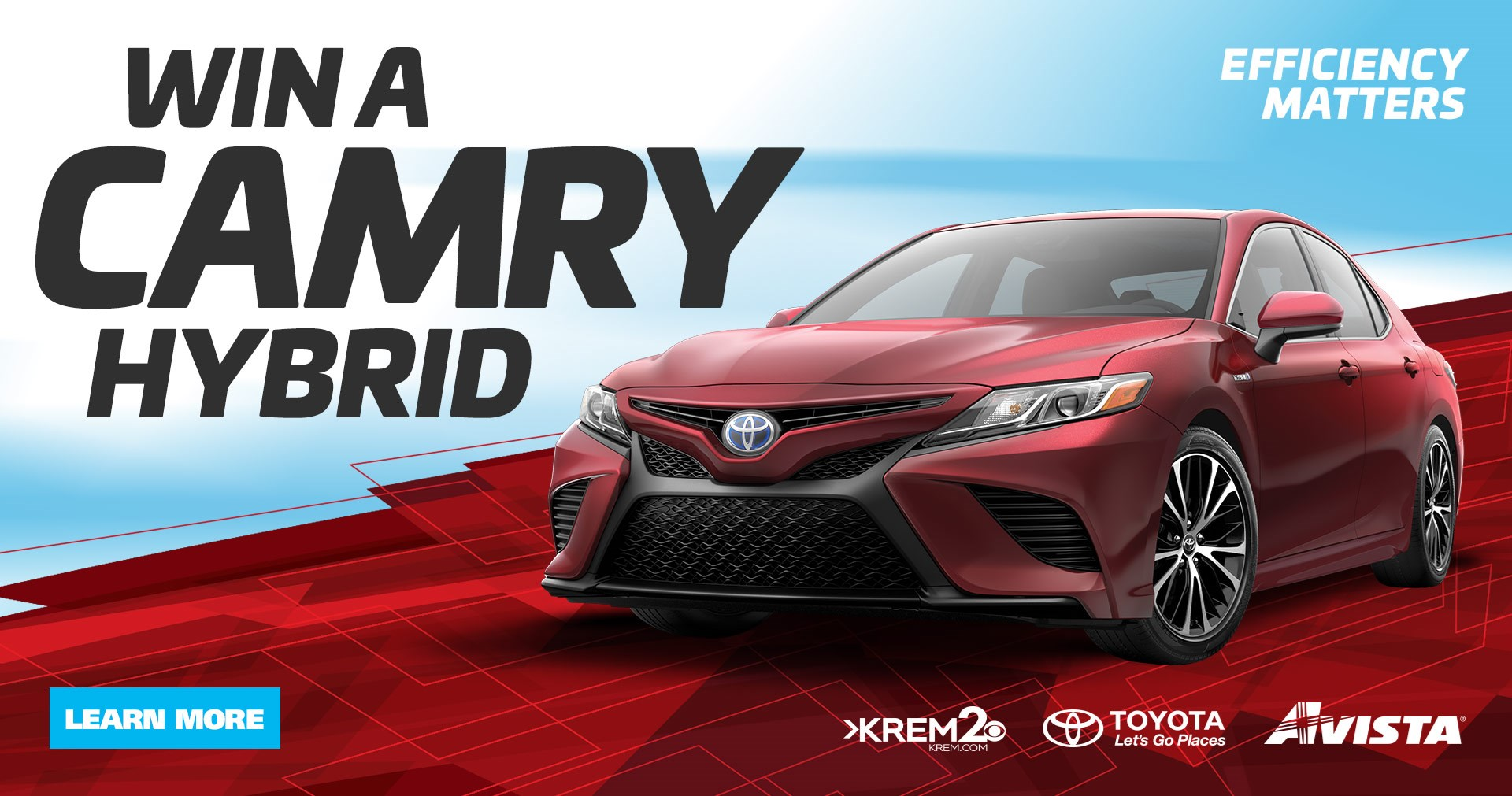 Win a Camry Hybrid Sweepstakes