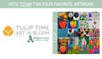 Art In Bloom Vote for Tulip Time