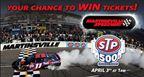 Martinsville speedway ticket giveaway