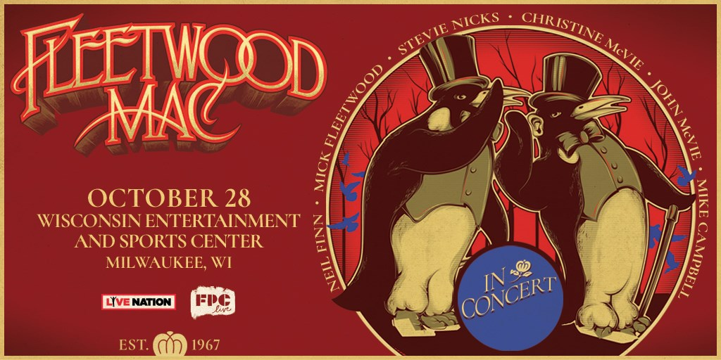 Win tickets to see Fleetwood Mac at the new arena! - 96 5 WKLH