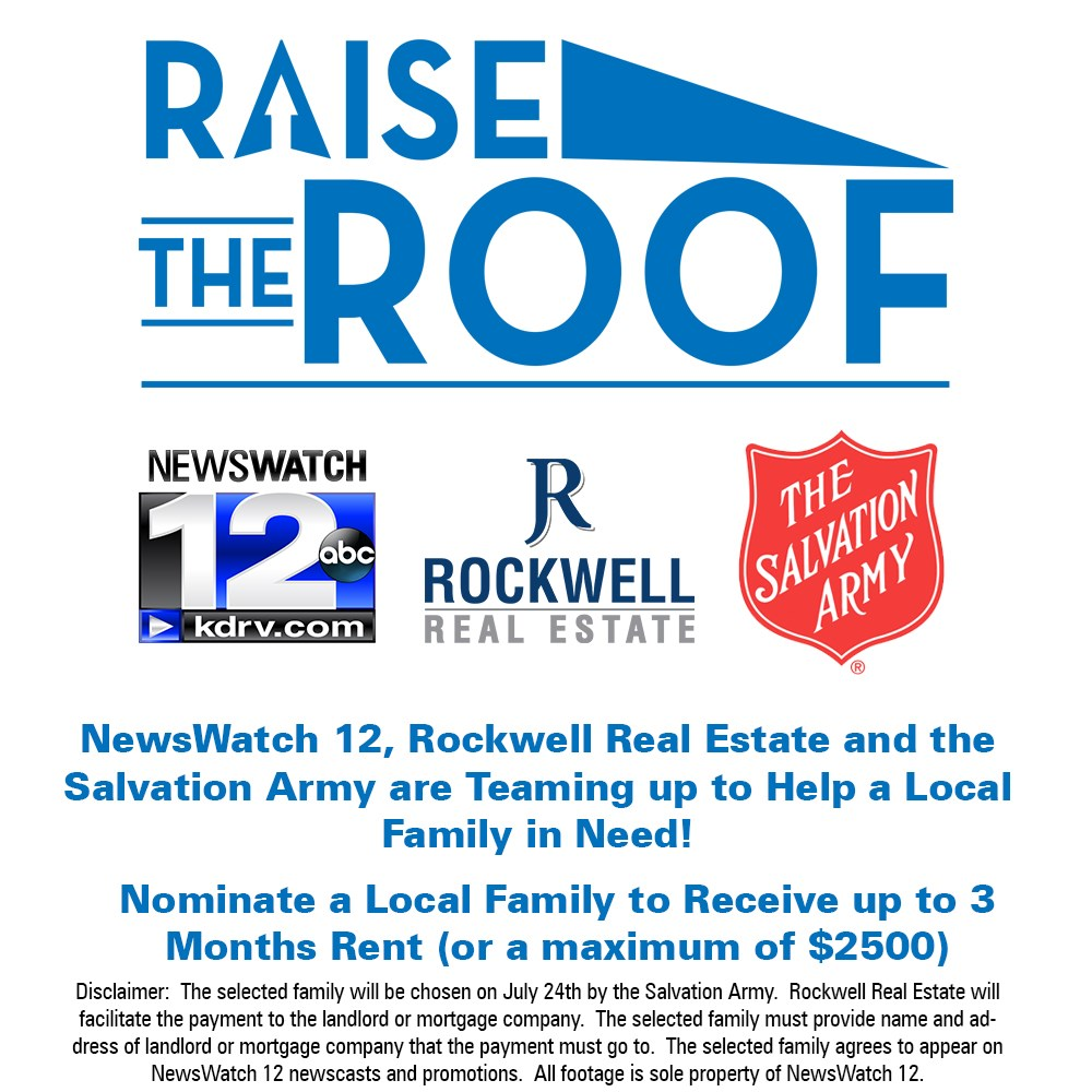 Raise The Roof - Medford News, Weather, Sports & Breaking News - KDRV
