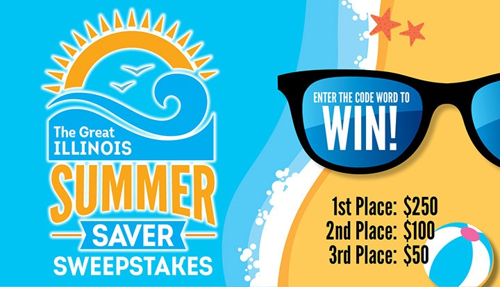 Look in your copy of The Great Illinois Summer Saver Book! Find a