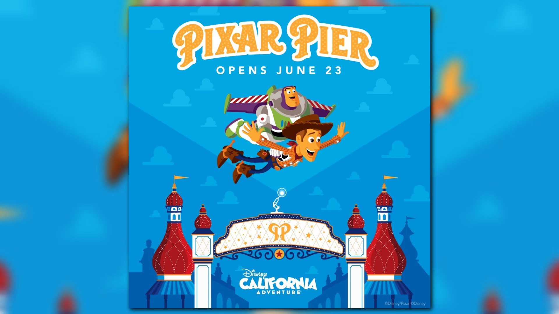 ABC 10 Disneyland Resort Pixar Pier Sweepstakes