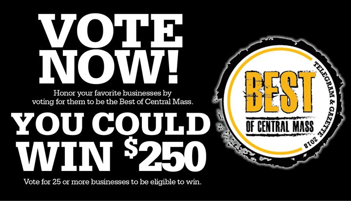 Vote For Us - Best Of Central Mass 2018