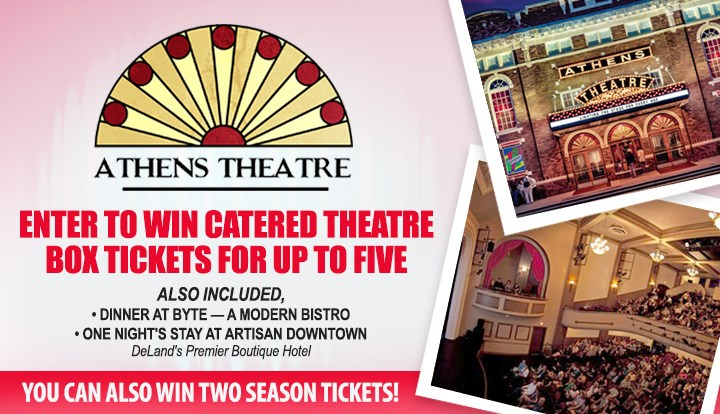 Athens Theatre Evening At The Show Sweepstakes - Contests