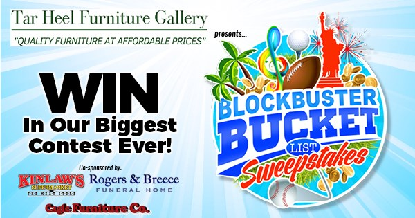 Blockbuster Bucket List - Contests and Promotions - The