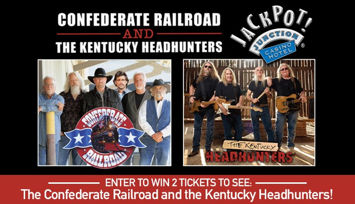Confederate Railroad And Kentucky Headhunters Sweepstakes