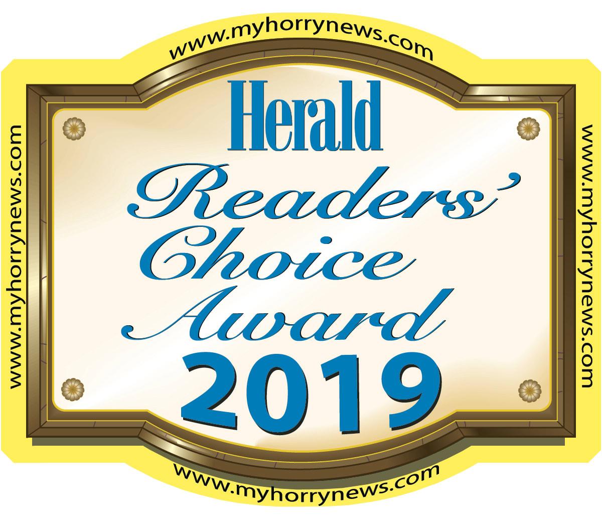 Myrtle Beach Herald Readers Choice Awards 2019