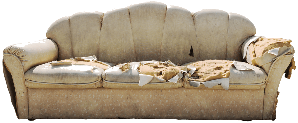 This old hideaway - Furniture Warehouse Ugly Couch Contest