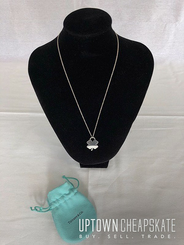 5a13b8eab4288 Tiffany Four Leaf Clover Charm Necklace - Vote for Your Favorite ...