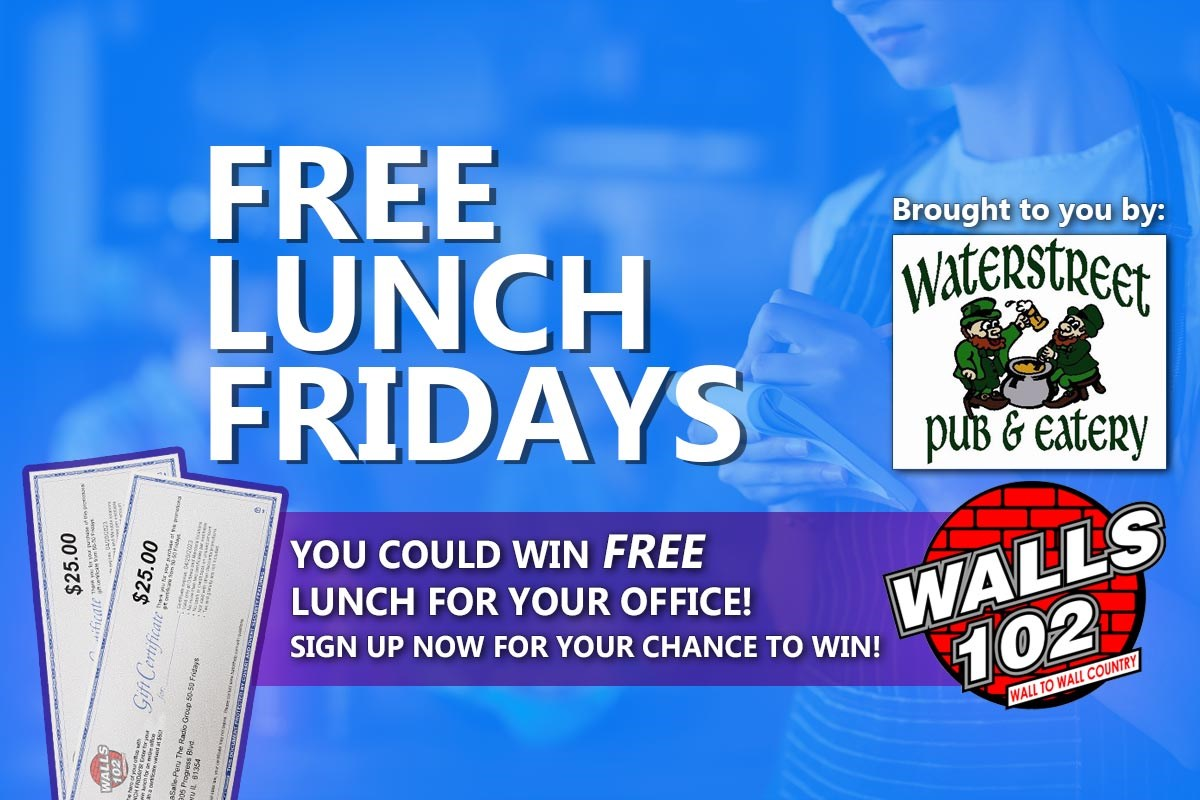 free lunch friday wals