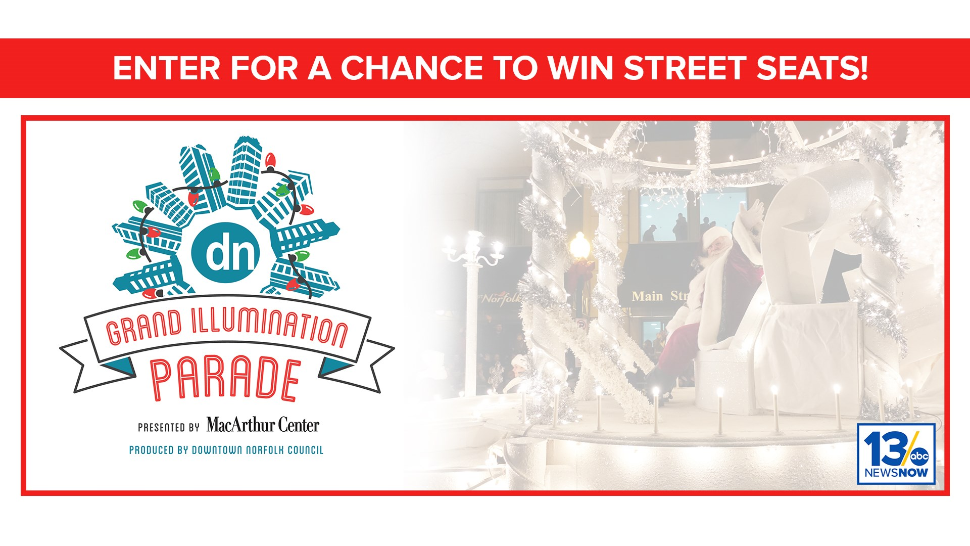 Holiday Parade sweepstakes | 13newsnow.com
