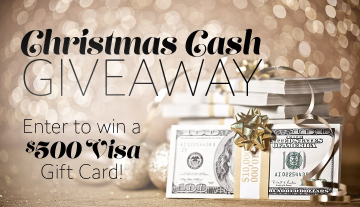 Enter For Your Chance To Win A 500 Visa Gift Card