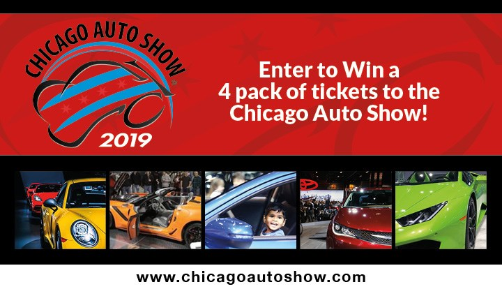 Chicago Auto Show Giveaway - Contests and Promotions