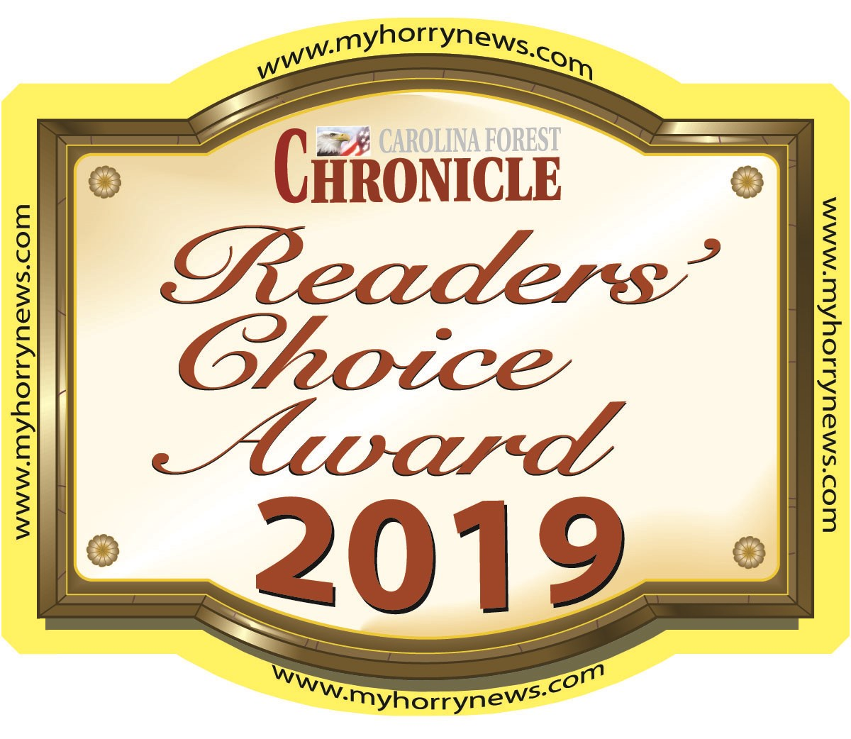 2019 Carolina Forest Chronicle Readers Choice