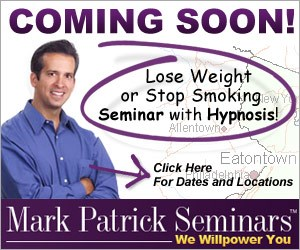 Jump start your 2019 weight loss with Hypnotist Mark Patrick! - Sunny 95